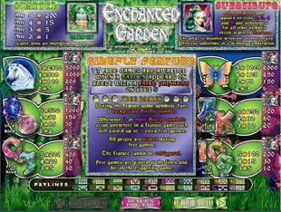 Der Enchanted Garden Spielautomat - ein märchenhafter Spielautomat